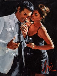 The Proposal IV (Reversed) by Fabian Perez -  sized 12x16 inches. Available from Whitewall Galleries